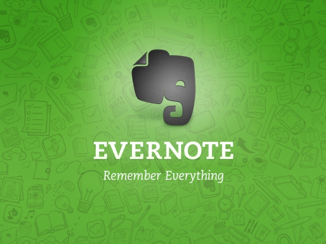 My New Favorite App — EVERNOTE